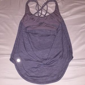 lululemon athletica Tops - Lululemon Women's Yoga Tank- Heathered Gray